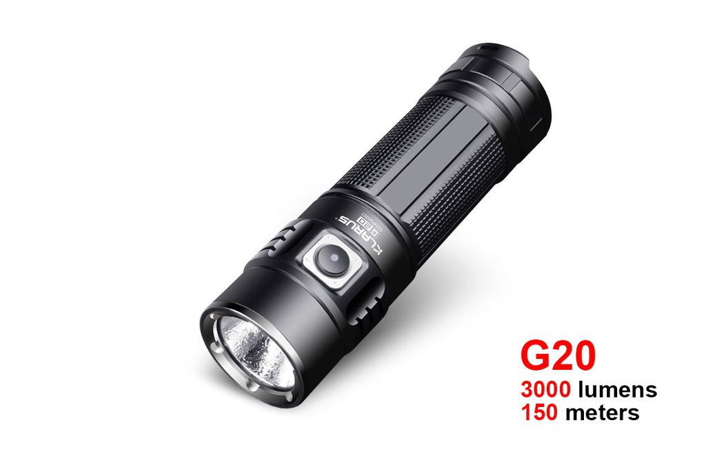 Đèn pin đa năng Klarus g20