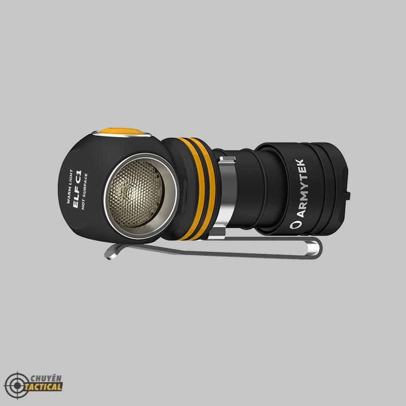 Đèn Pin Đội Đầu ARMYTEK ELF C1 2021 Version - Sáng Vàng