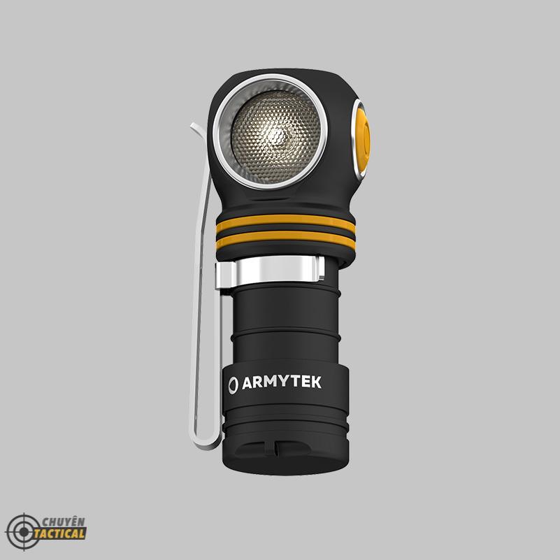 Đèn Pin Đội Đầu ARMYTEK ELF C1 2021 Version – Sáng Vàng