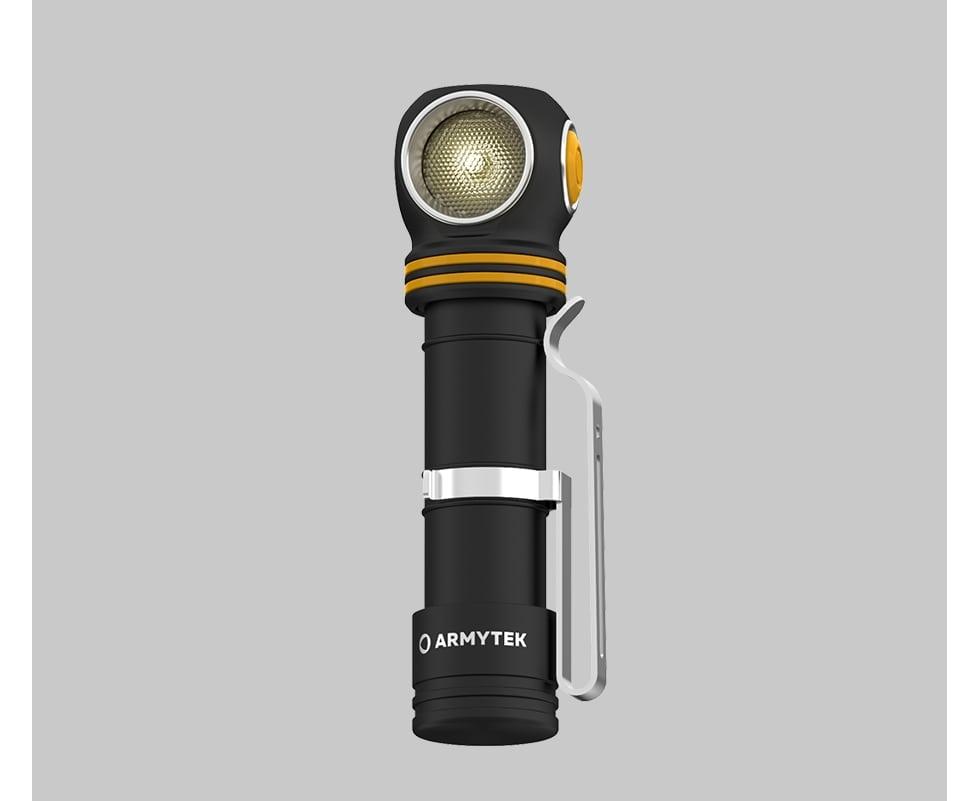 Đèn Pin Đội Đầu ARMYTEK ELF C2 Sáng Vàng