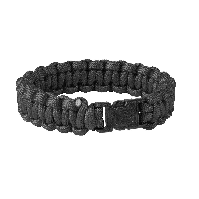 SURVIVAL BRACELET – PARACORD – Black