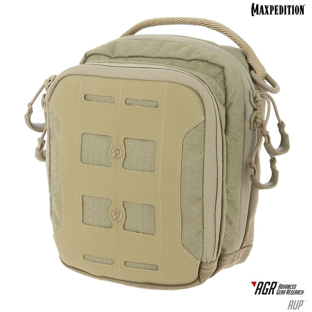 Maxpedition AUP ACCORDION UTILITY POUCH – Tan