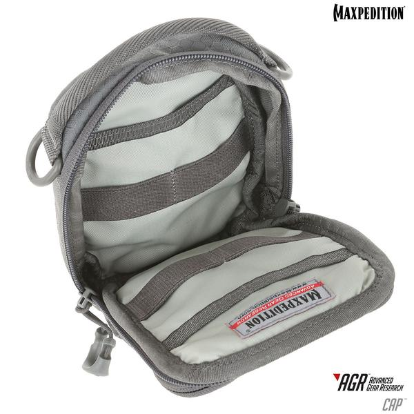 Maxpedition CAP COMPACT ADMIN POUCH – Gray