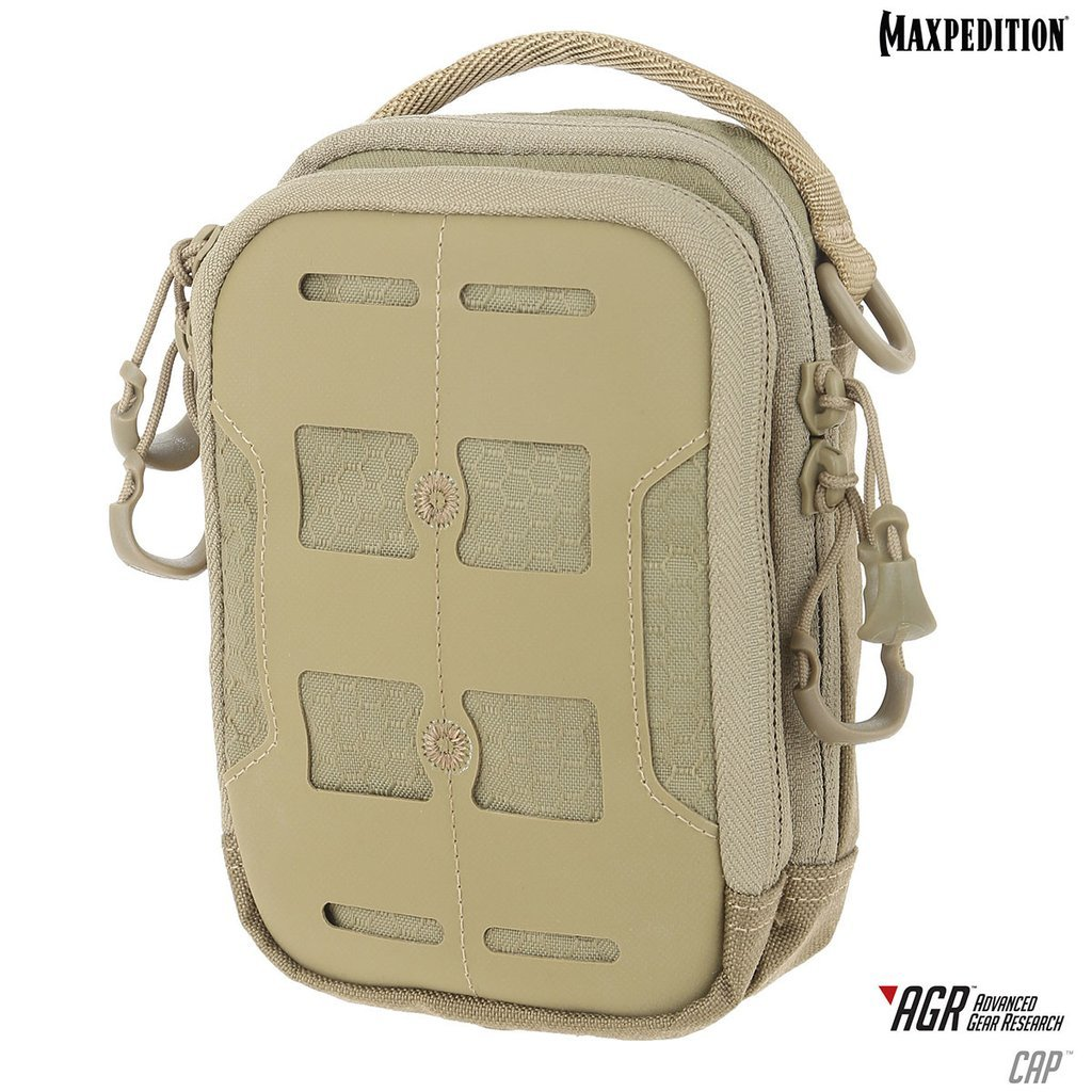 Maxpedition CAP COMPACT ADMIN POUCH – Tan