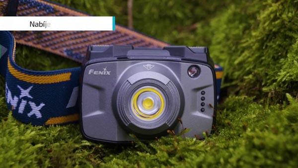 đèn pin cao cấp FENIX có ánh sáng vàng