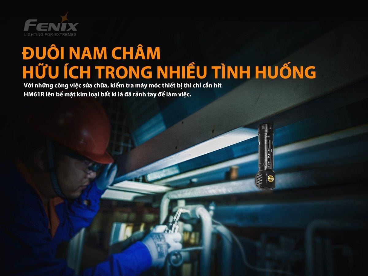 Đèn Pin Đội Đầu Fenix HM61R