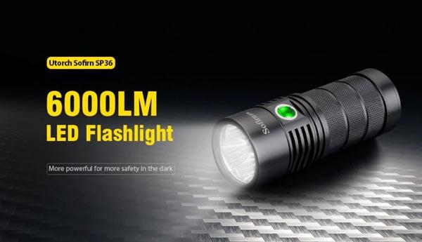đèn pin sạc sofirn sp36