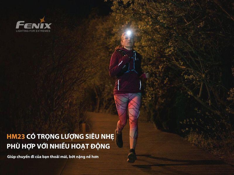 Đèn Pin FENIX – HM23 – 240 LUMENS