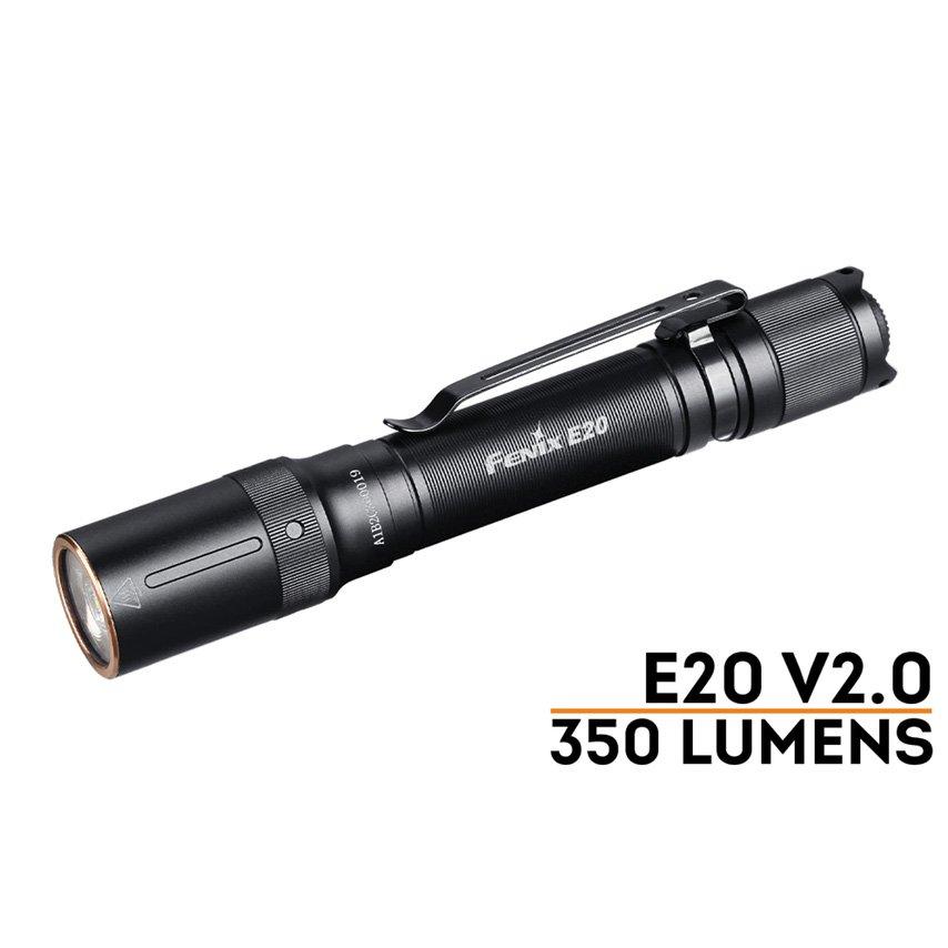 Đèn Pin FENIX – E20 V2.0 – 350 LUMENS