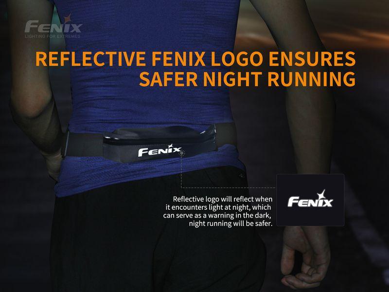 Phụ kiện Fenix AFB-10 – Túi đeo bụng Sports Fanny Pack – Màu đen