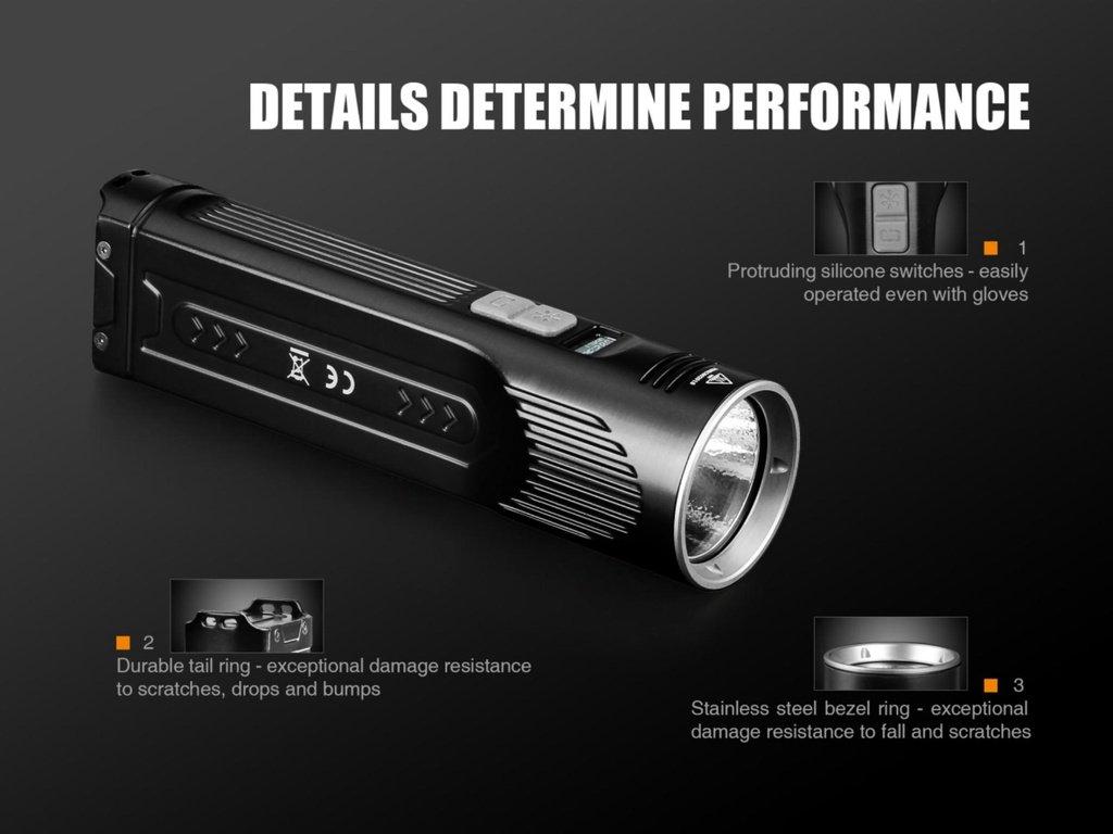Đèn Pin FENIX – UC52 – 3100 LUMENS (MICRO USB)