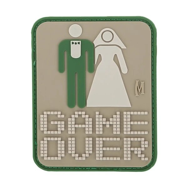 "Game Over Patch (SWAT) 2"" x 2.5"" – Arid"