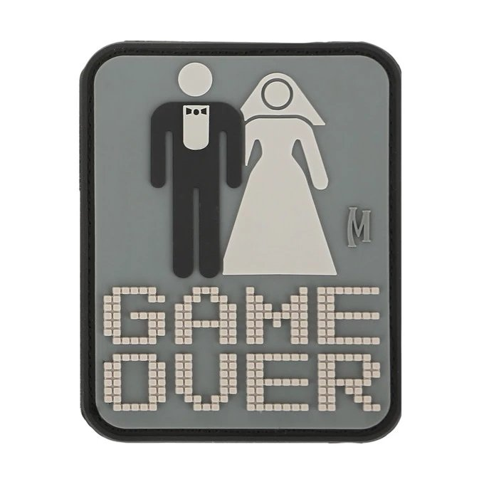"""Game Over Patch (SWAT) 2"""" x 2.5"""" – Swat"""