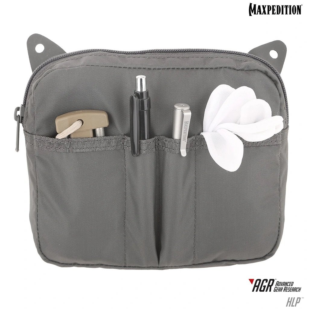 Pouch Maxpedition HLP Hook & Loop – Gray