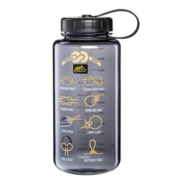 TRITAN™ BOTTLE Wide Mouth Knots (1 Liter) – Smoked