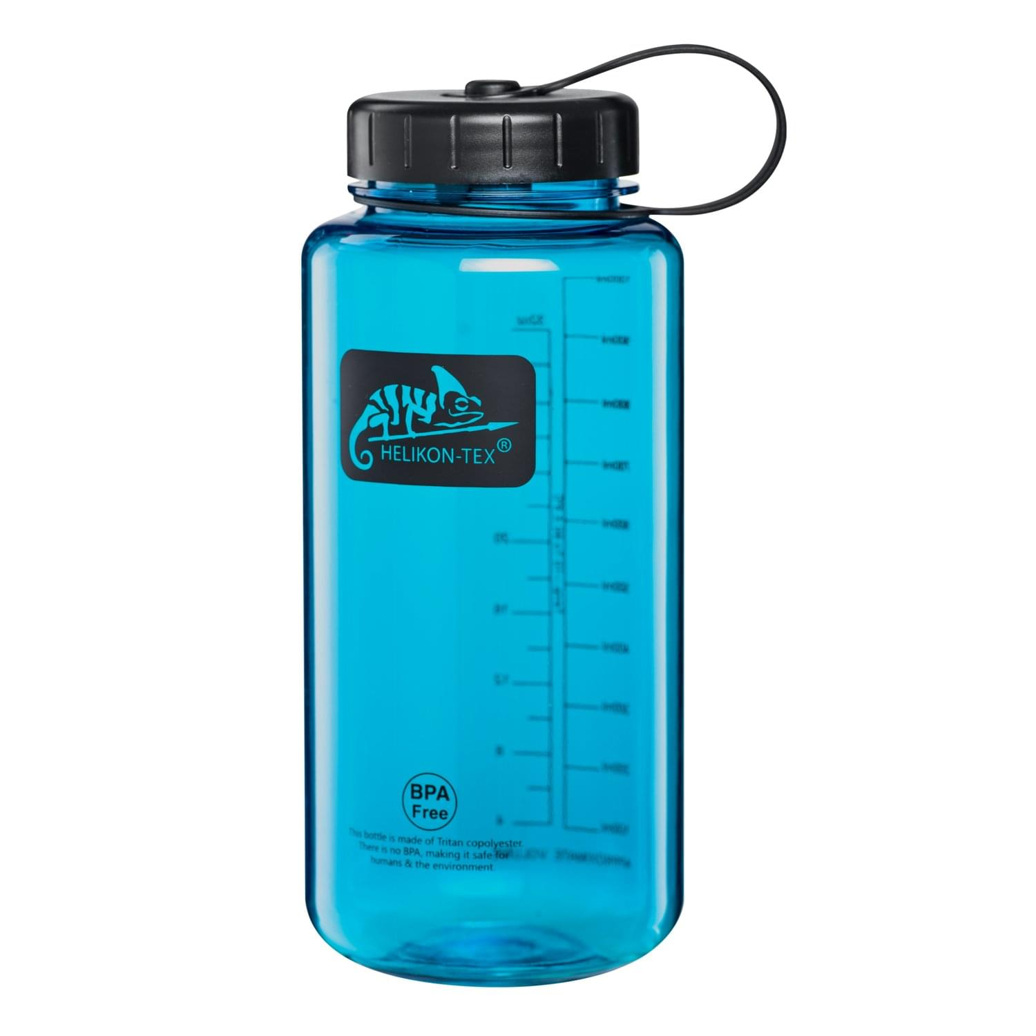 TRITAN™ BOTTLE Wide Mouth (1 Liter) - Blue / Black A