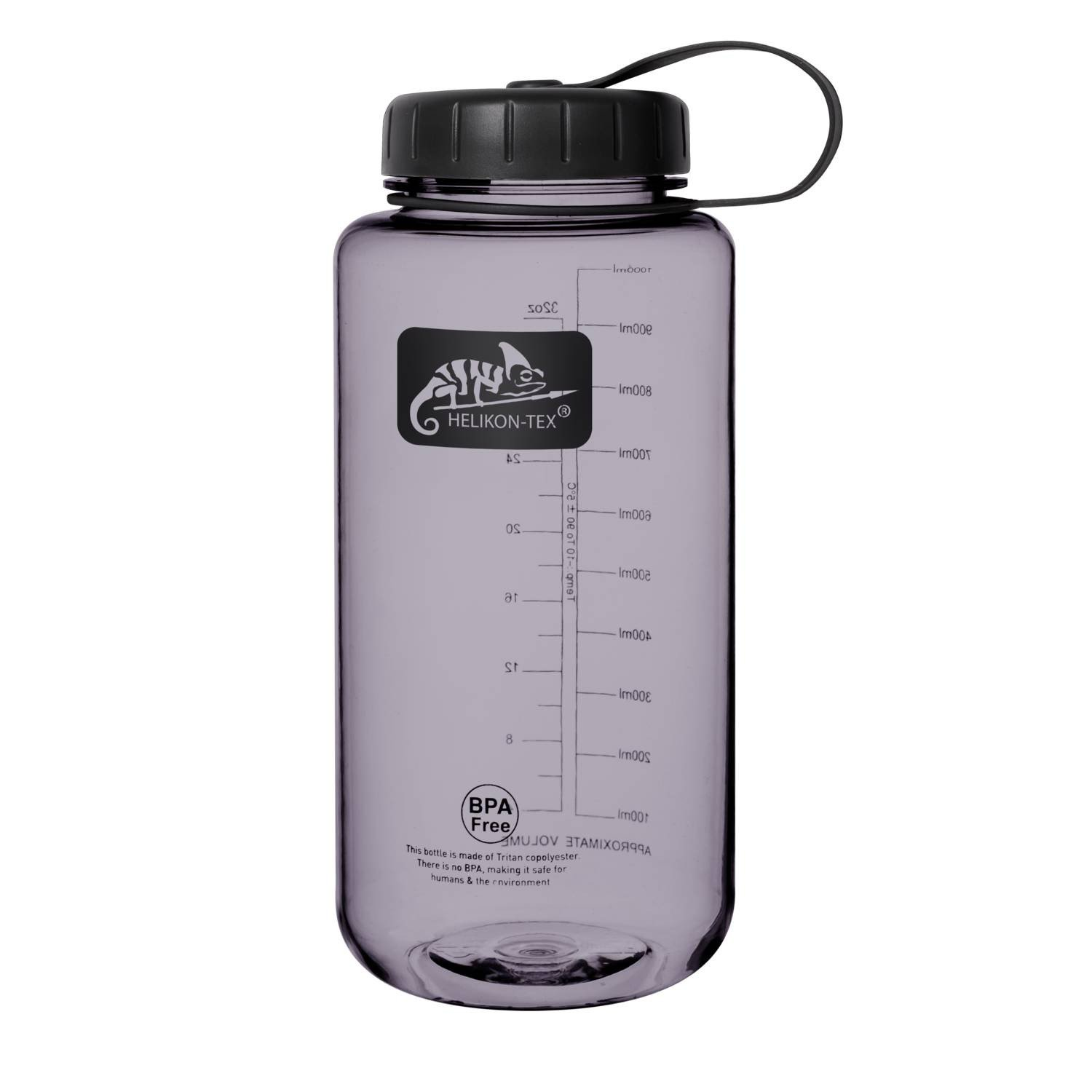 TRITAN™ BOTTLE WIDE MOUTH (1 LITER) - Smoked