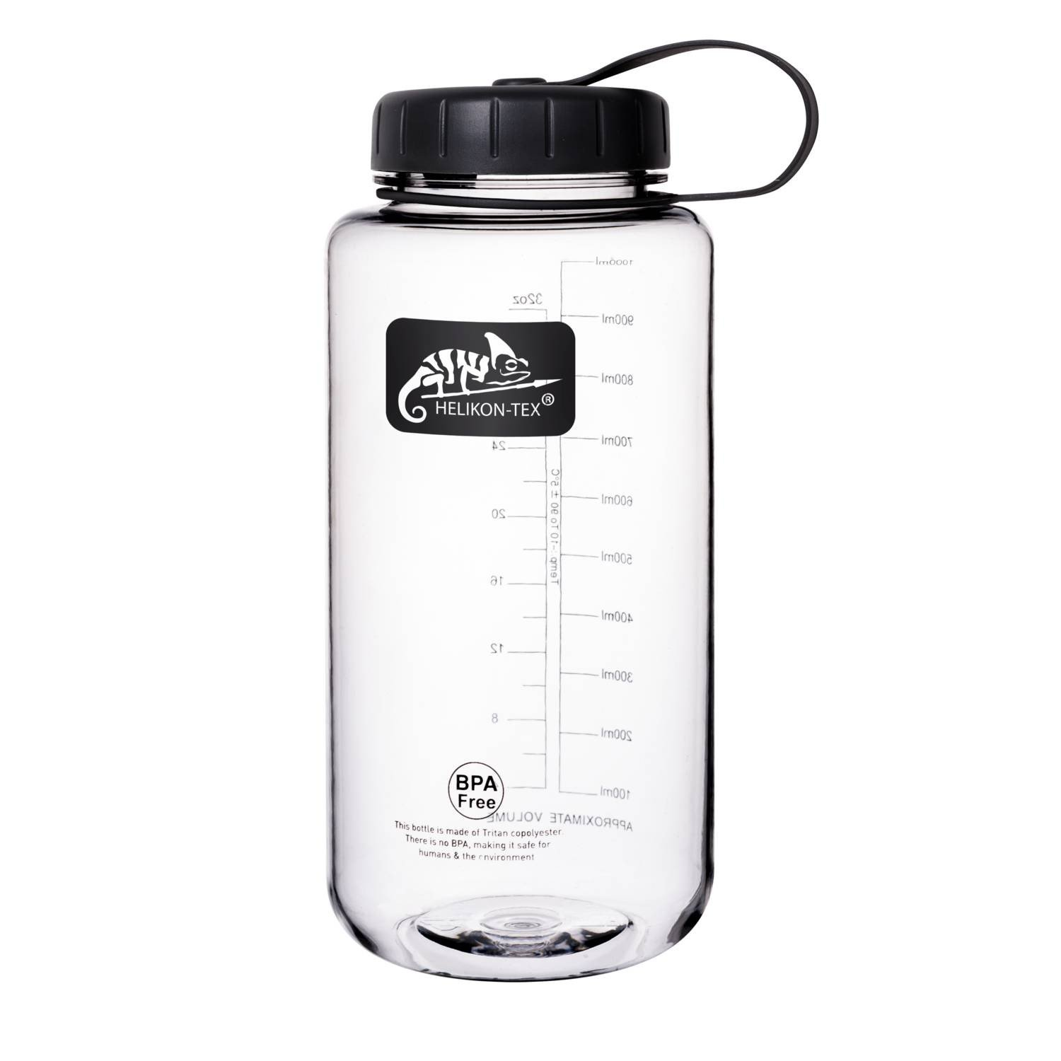TRITAN™ BOTTLE WIDE MOUTH (1 LITER) – Clear