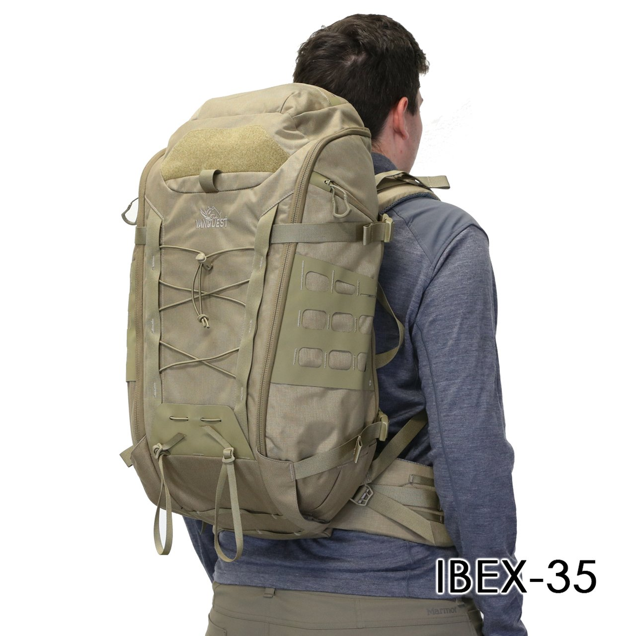 Balo Quân Đội VANQUEST IBEX-35 Backpack (MultiCam-Black)