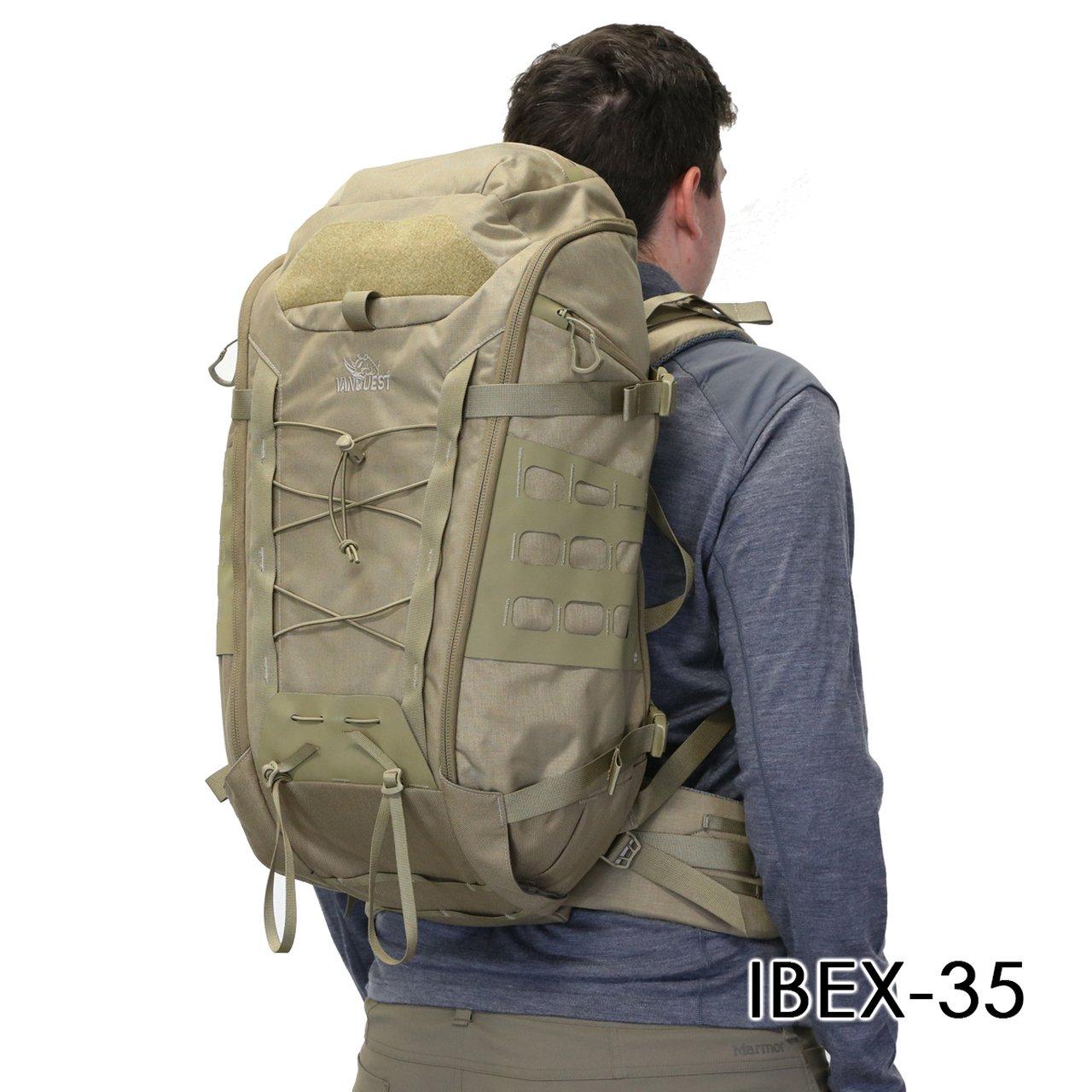 Balo Quân Đội VANQUEST IBEX-35 Backpack – Black