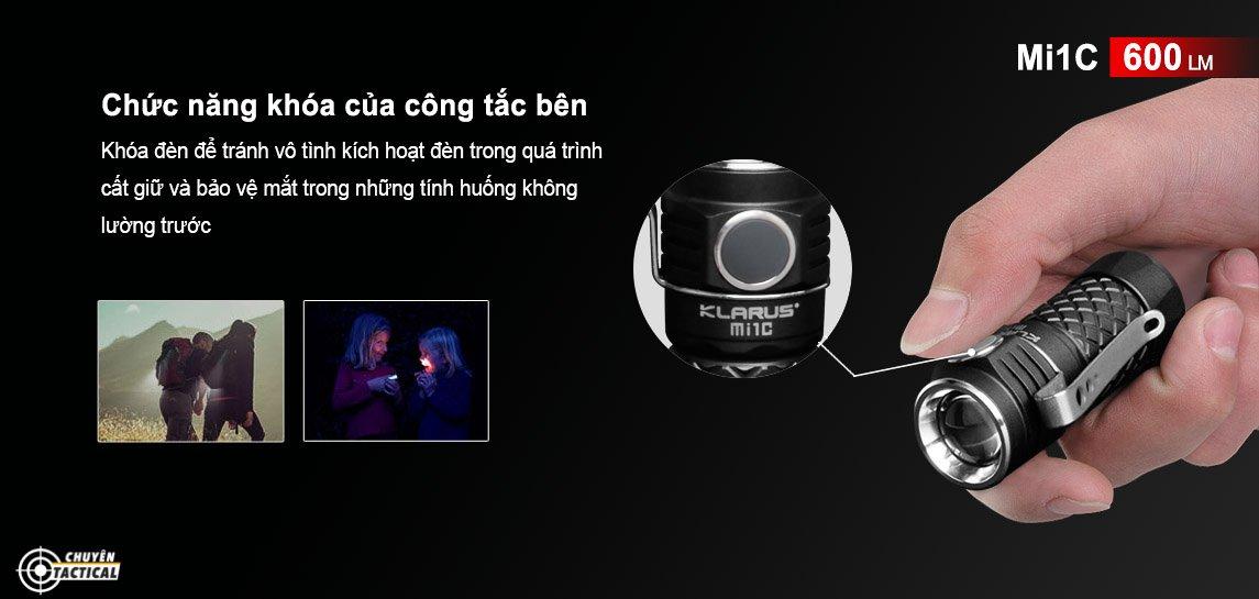 Hướng dẫn sử dụng đèn pin Klarus g20