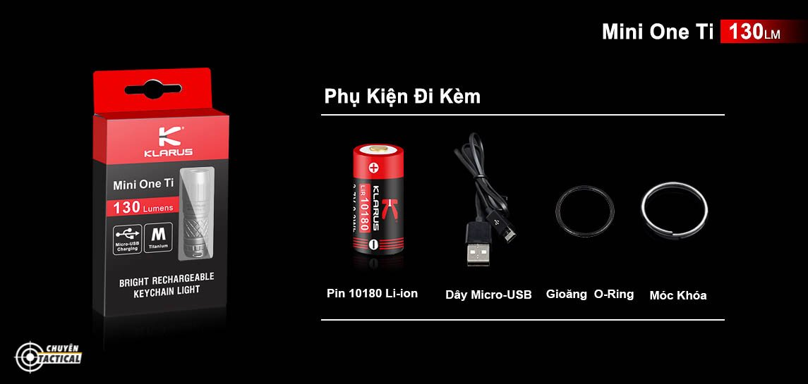Mua đèn pin Klarus mi7