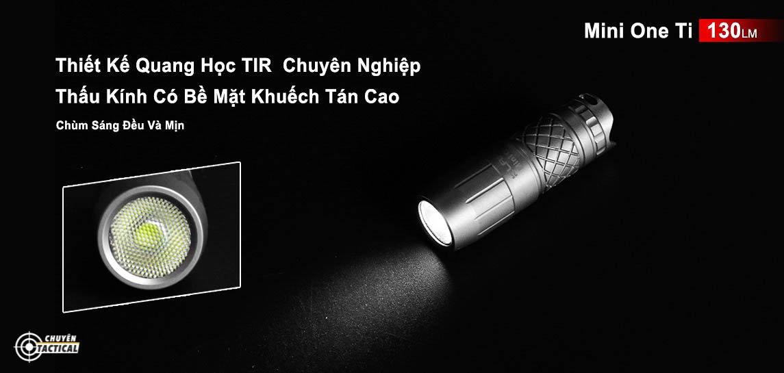 Đèn pin siêu sáng Klarus mi7