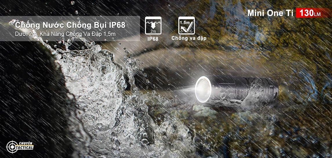 Công năng của đèn Klarus mi7