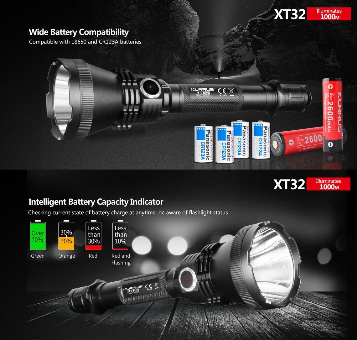 Đèn Pin Klarus XT32