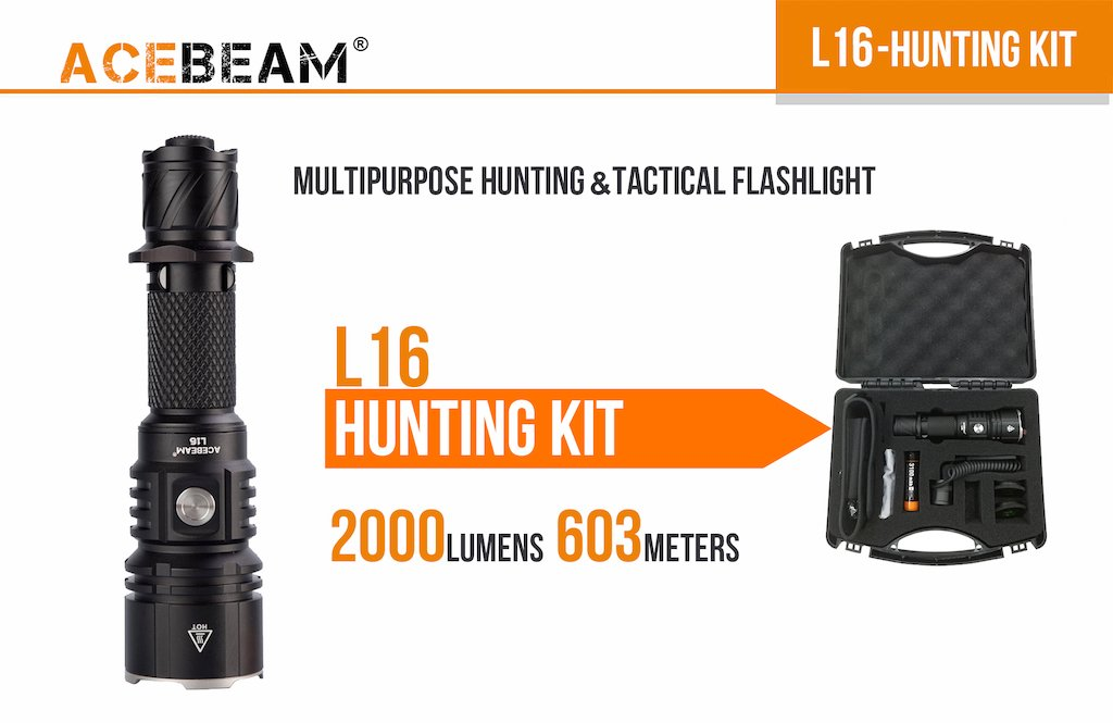 ACEBEAM L16 HUNTING KIT