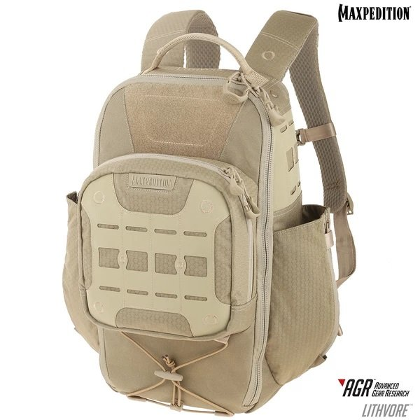 Balo Maxpedition LITHVORE™ EVERYDAY 17L – Tan