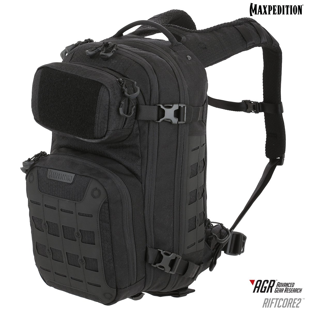 Balo Maxpedition Riftcore v2.0 CCW-Enabled 23L – Black