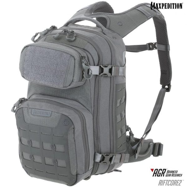Balo Maxpedition Riftcore v2.0 CCW-Enabled Backpack 23L – Grey