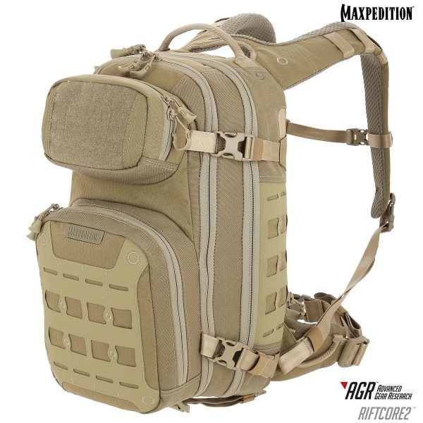 Balo Maxpedition Riftcore v2.0 CCW-Enabled 23L – TAN