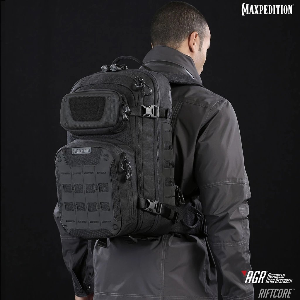 Balo Maxpedition RIFTCORE™ CCW-ENABLED 23L – Black