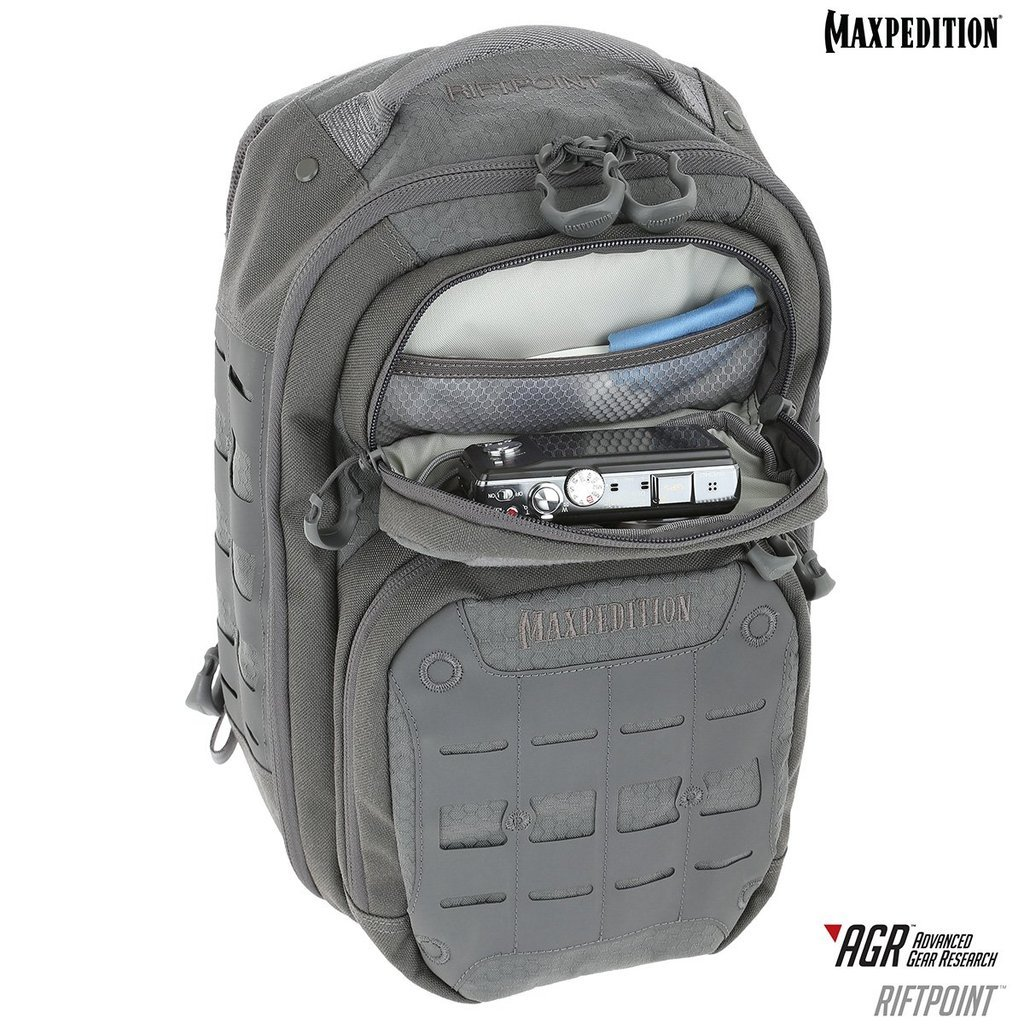 Balo Maxpedition Riftpoint 2.0 CCW-Enabled 15L – Black