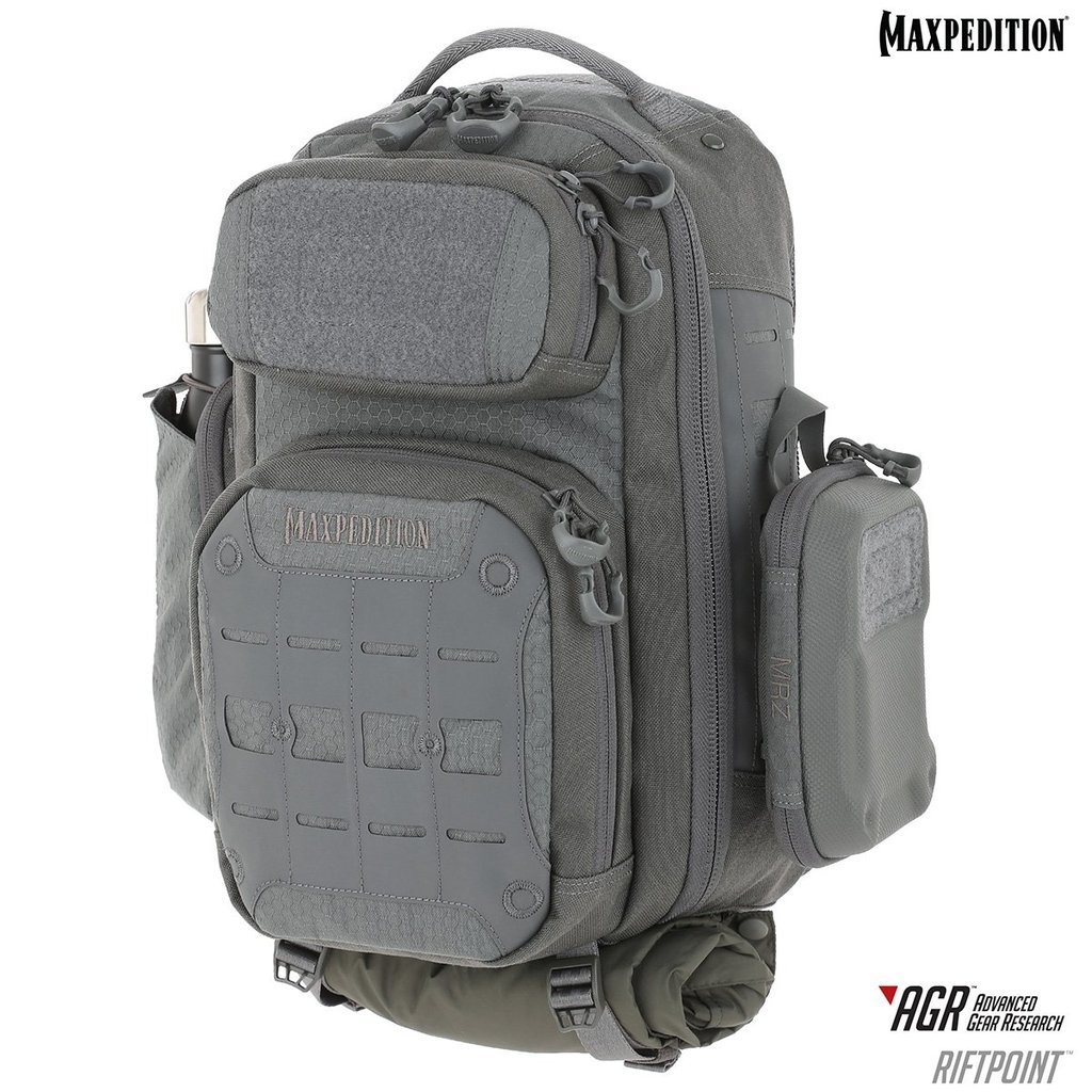 Balo Maxpedition Riftpoint 2.0 CCW-Enabled 15L  – Gray