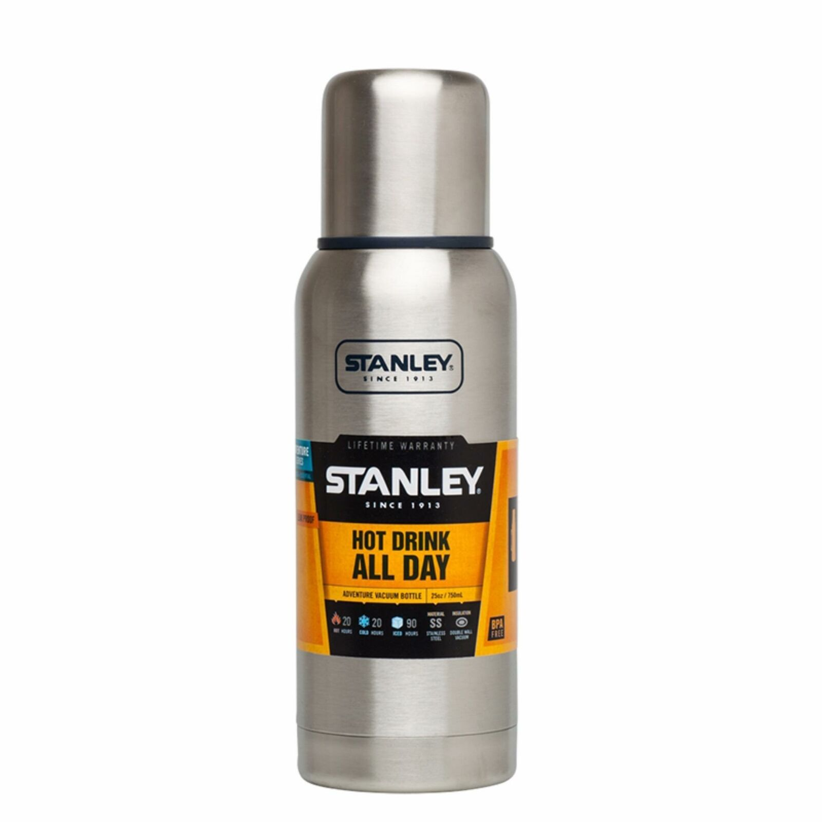 Bình Giữ Nhiệt Stanley Adventure 739ml-Stainless Steel