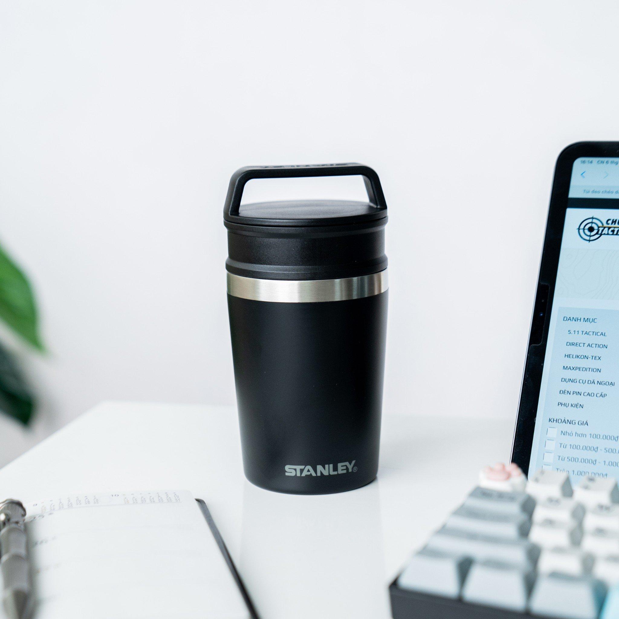 Bình giữ nhiệt Stanley Adventure Shortstack Travel Mug - Black