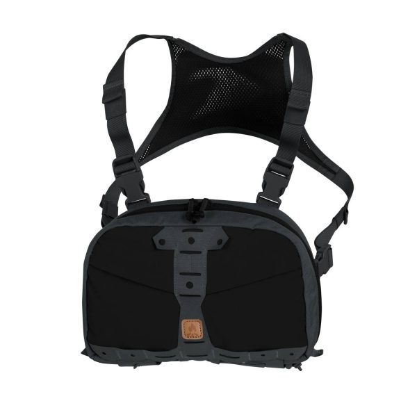 Túi Chest Pack Numbat® – Black / Shadow Grey