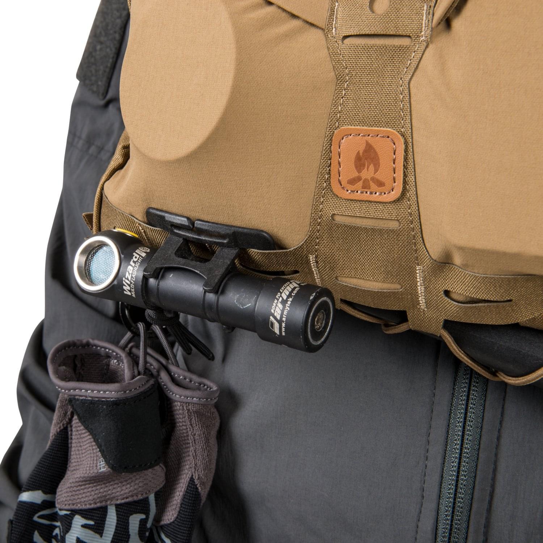 Túi Chest Pack Numbat® – Black / Shadow Grey