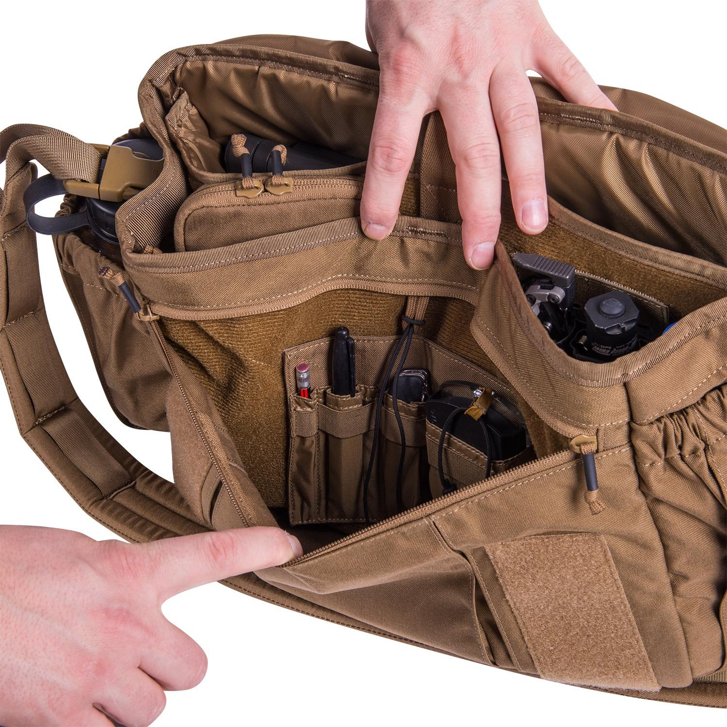 TÚI URBAN COURIER BAG LARGE® – CORDURA®- Coyote