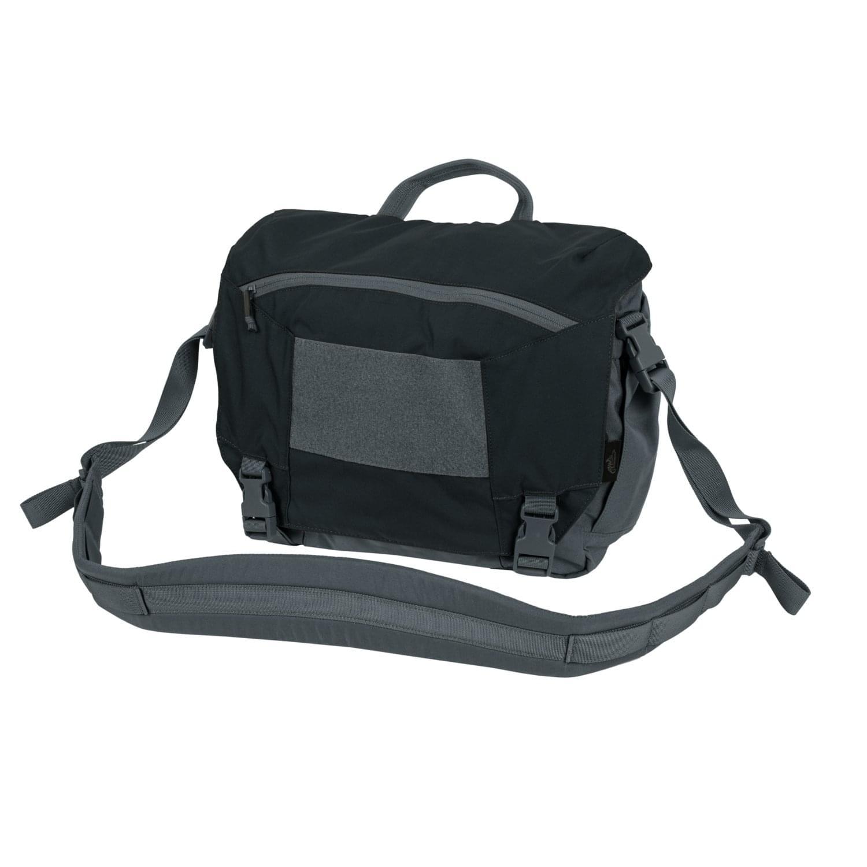 TÚI URBAN COURIER BAG Medium® – Cordura® – Black / Shadow Grey A