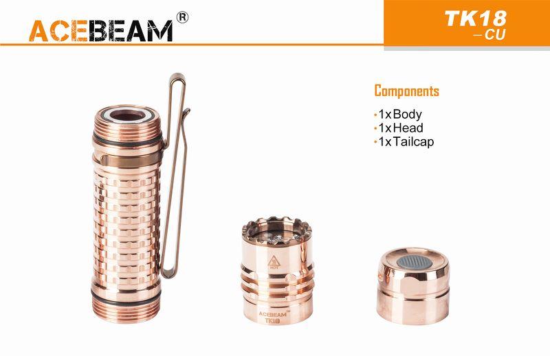 ACEBEAM TK18 Copper