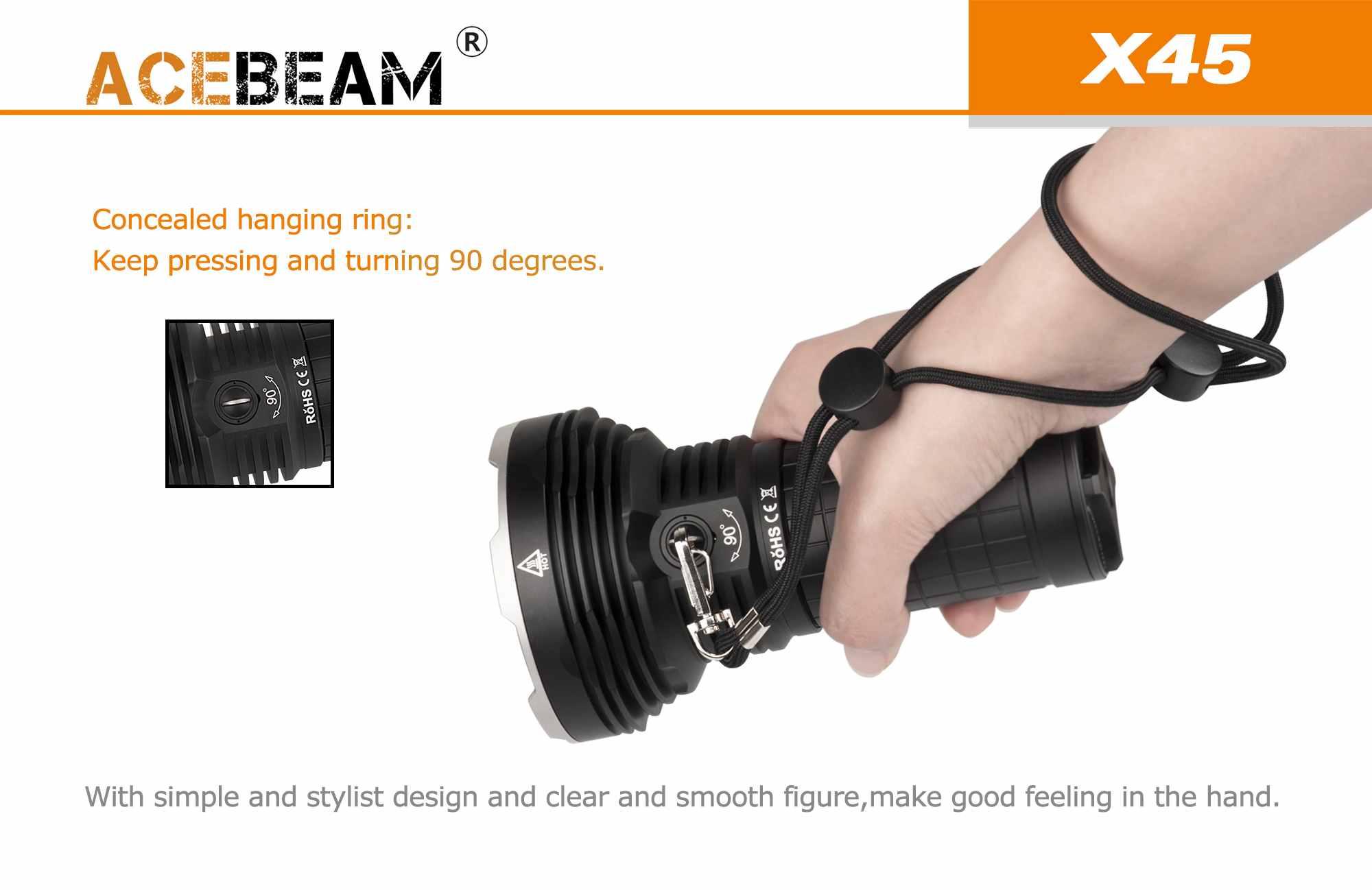 ACEBEAM X45 18000 LUMENS 622M