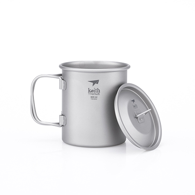 KEITH TI3201 - Ca Titanium 1 Lớp 300ml