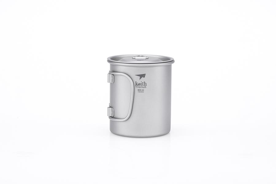 KEITH TI3201 – Ca Titanium 1 Lớp 300ml