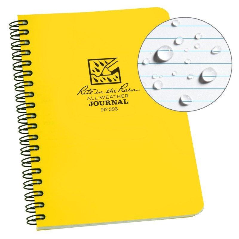SPIRAL NOTEBOOK – JOURNAL – Yellow