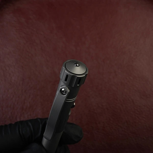 Bút Titanium MecArmy TPX12 – Bolt Action + Spinner