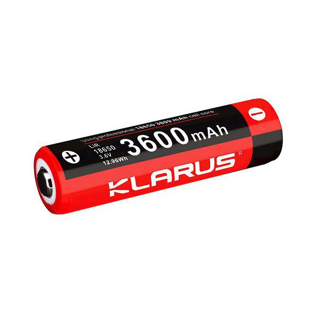 PIN SẠC KLARUS 18650 CAO CẤP DUNG LƯỢNG 3600MAH